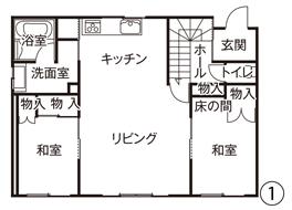 図面1階(工事前)
