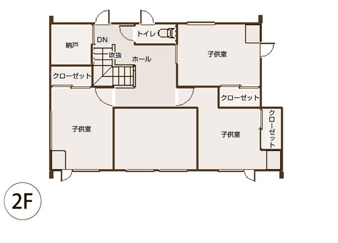 case4新築図面2階