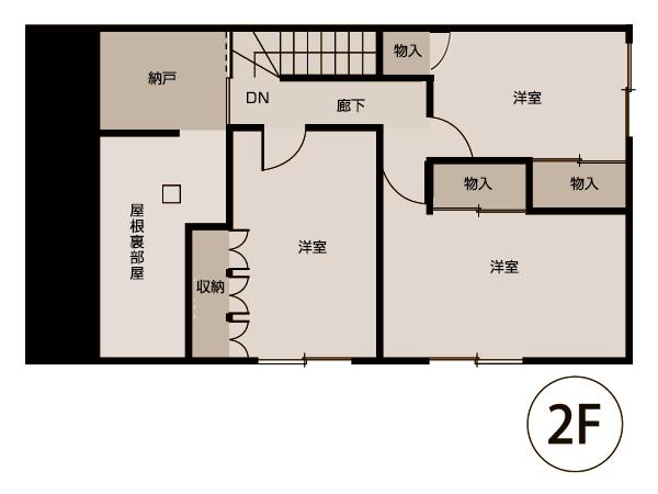 北光リノベーション図面2階