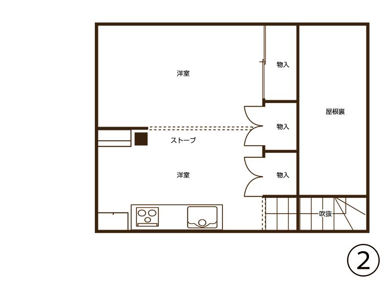 図面2階(施工前)