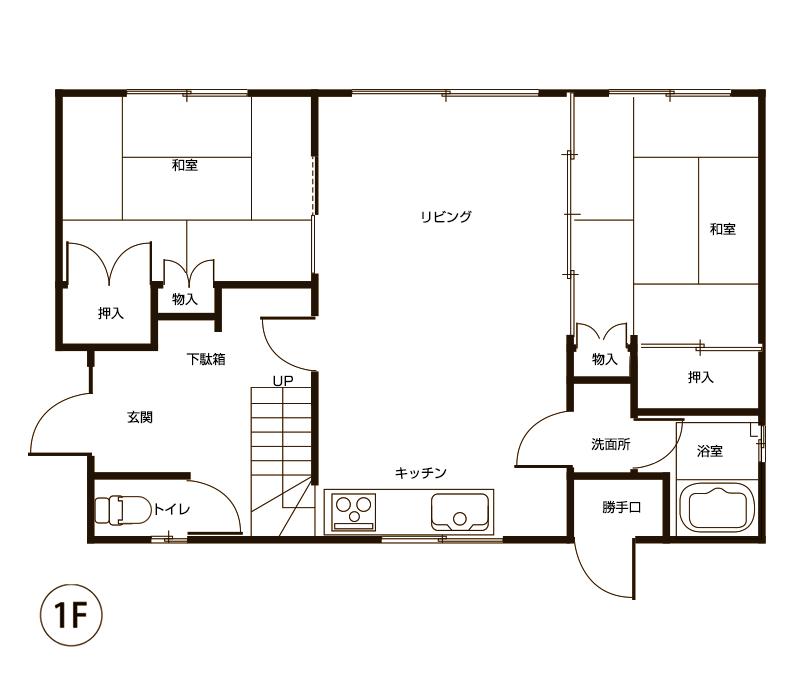 図面1階(施工前)