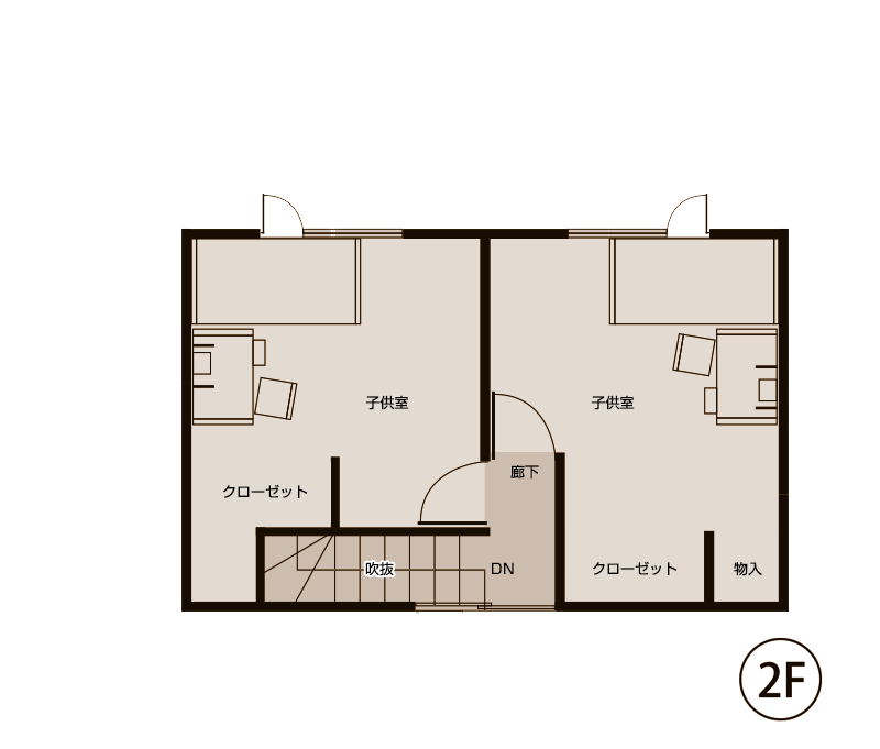 図面2階(施工後)