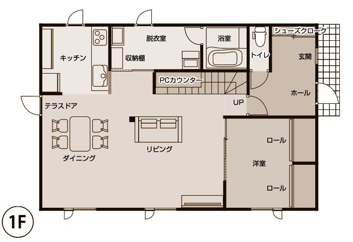 施工後 1階