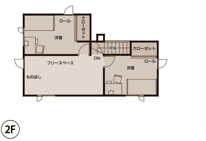 施工後 2階