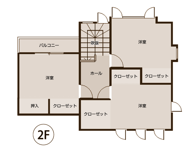 case2リノベーション図面2階